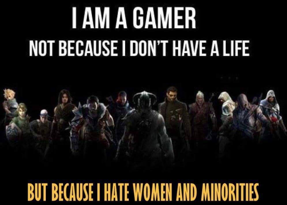 Spillevent blir kansellert pga sinte gamere. Om du føler deg støtt av dette bildet, hva tror du det betyr?
