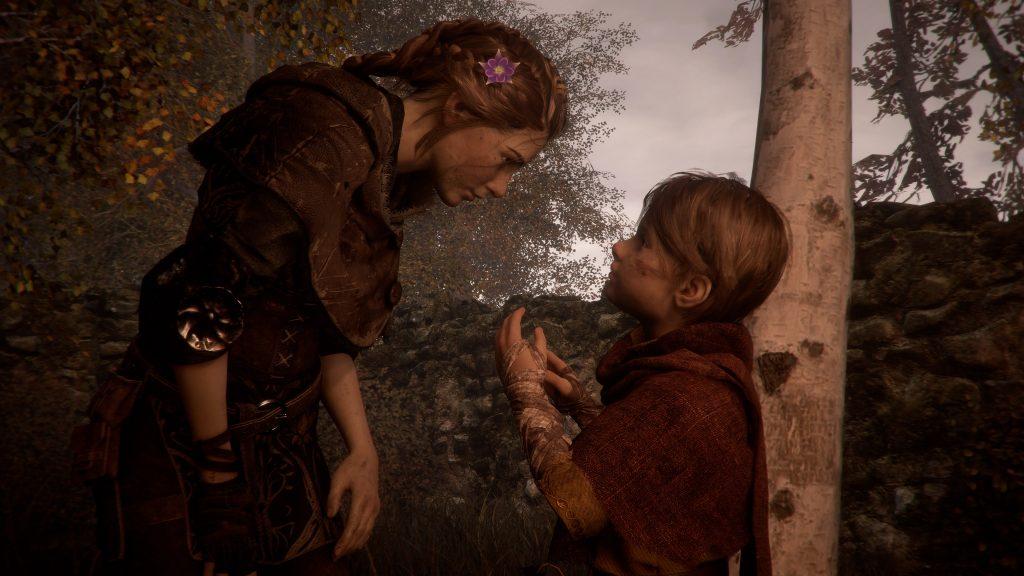 Amicia og Hugo i A Plague Tale Innocence