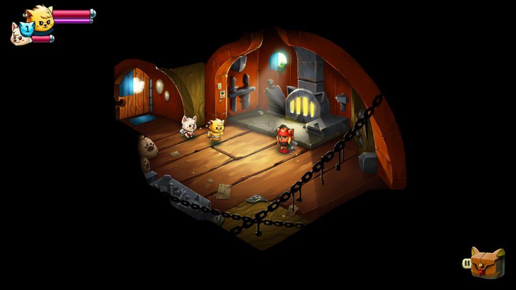 Stillbilde fra Cat Quest II