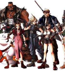 Gjengen i Final Fantasy 7