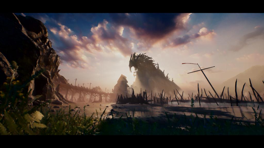 Skjermbilde fra Hellblade: Senua's Sacrifice