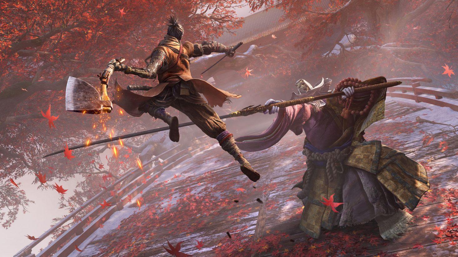 Skjermbilde fra spillet Sekiro: Shadows Die Twice til PlayStation 4 fra utvikleren From Software.